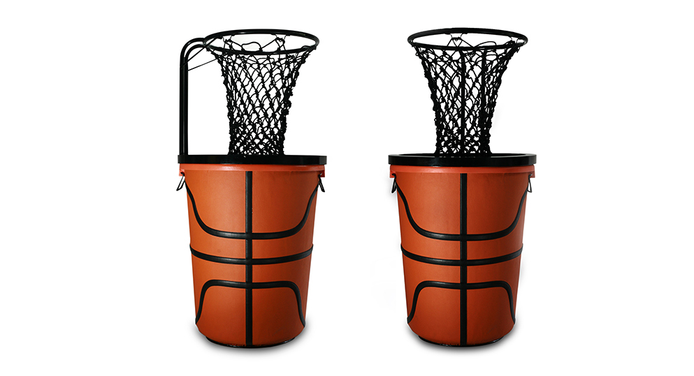 Basketball Hoop Trash Can Basketball Scores